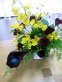 花テーブル2010.5.26