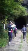 武田尾へ最長第2トンネル8