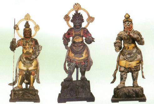栄山寺の十二神将像