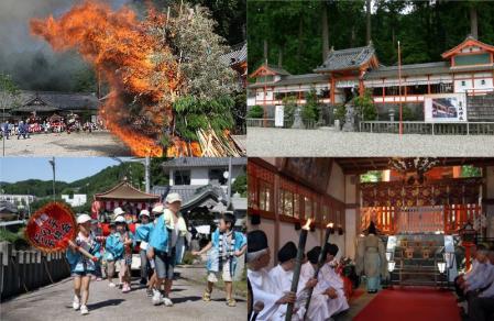 墨坂神社の火祭