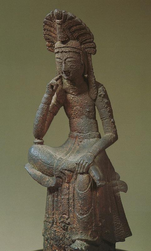 神野寺菩薩半跏像