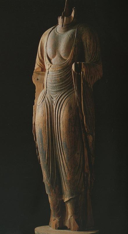 唐招提寺の如来形立像
