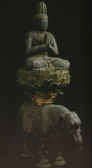 円証寺の普賢菩薩騎象像
