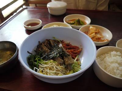 民俗村の食事01