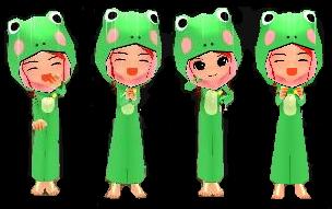 ちびカエル誕生♪