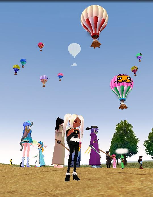 気球イベント~