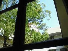 宝塚ホテルのカフェからの景色