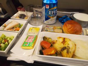 トルコ機内食
