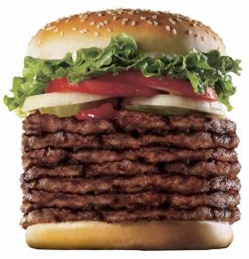 巨大バーガー