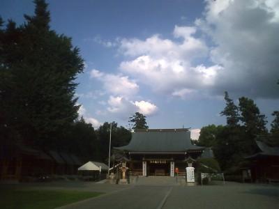 健軍神社2