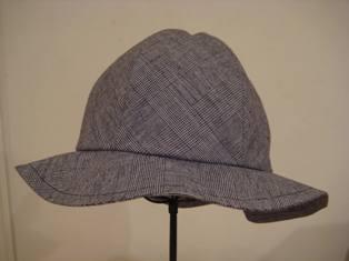 カブールで作った帽子