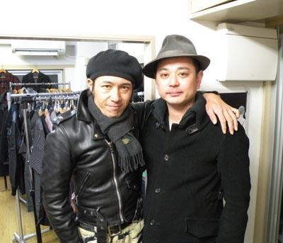 岩田さん&てつ2