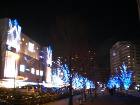 ブルーライトクリスマス