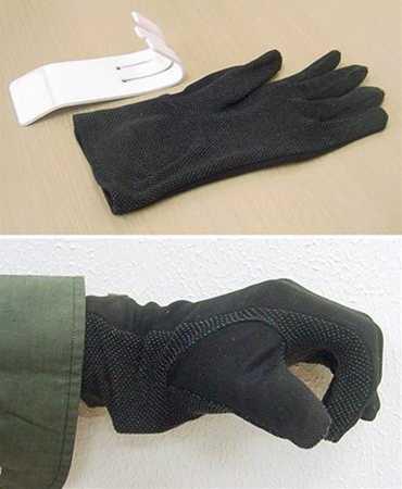 痴漢防止手袋