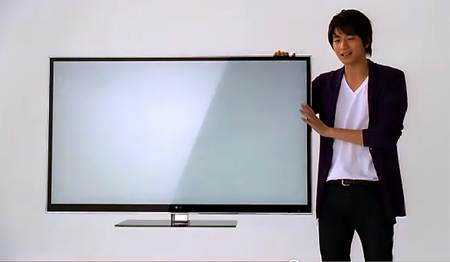 LGのテレビCM