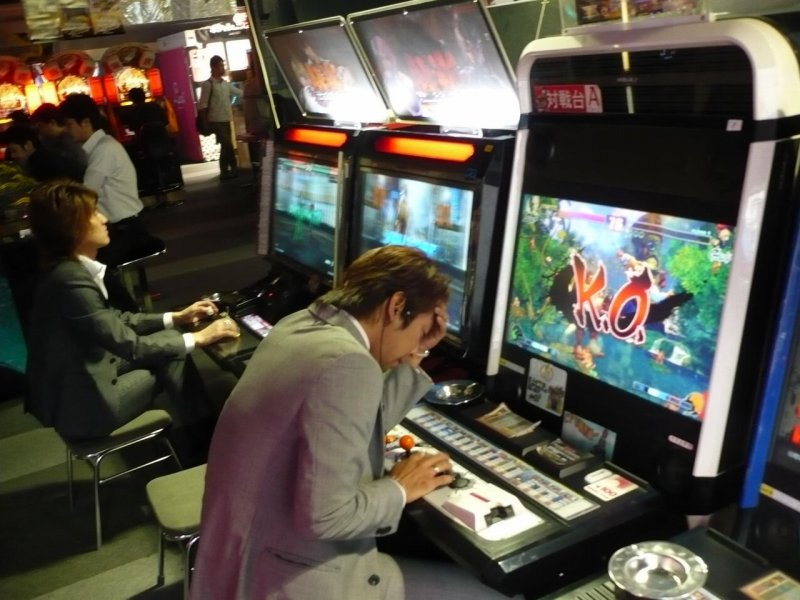 日本のゲームセンター