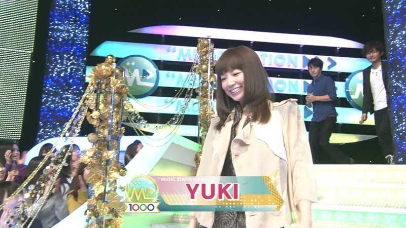 ミュージックステーションにYUKIが登場