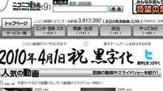 ニコニコ動画の黒字化