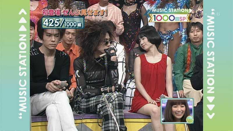 ミュージックステーション初登場時のJUDY AND MARY YUKIは真っ赤な服を着ていた