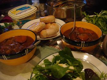 dinner with chihoyuki06Sep09