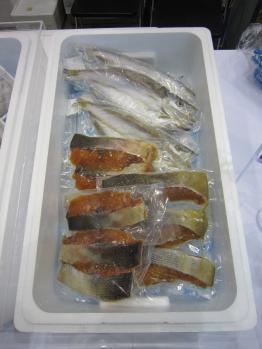 鮭・カマス
