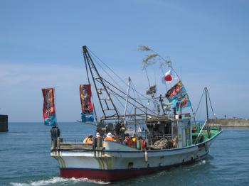 親子漁船2