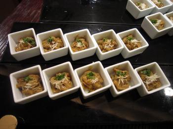 スルメイカ素麺焼塩辛和え