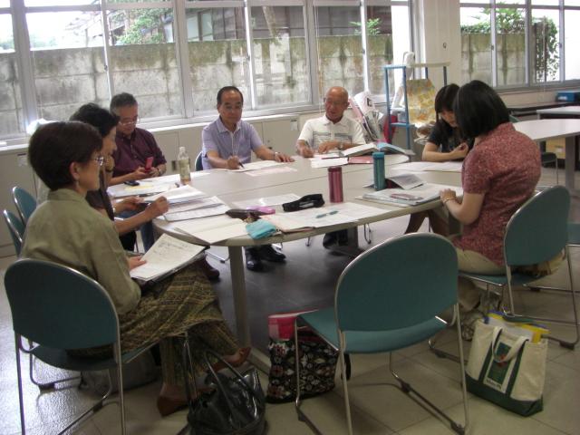 日本語教室グループ会議