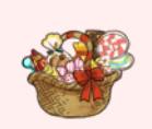 お菓子バスケット