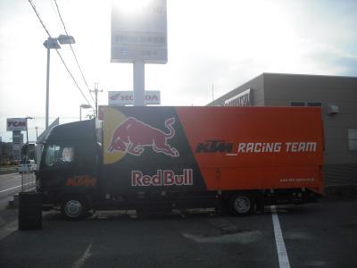 KTMトラック