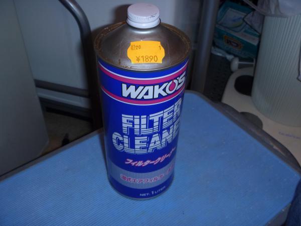 エアクリフィルターの洗浄オイル