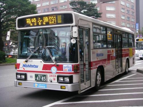 天神郵便局前にて香椎浜2608