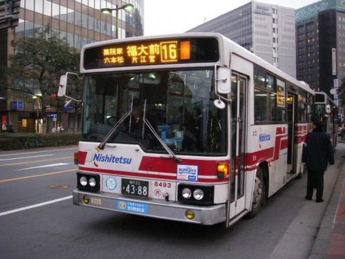 博多駅Aにて片江8493