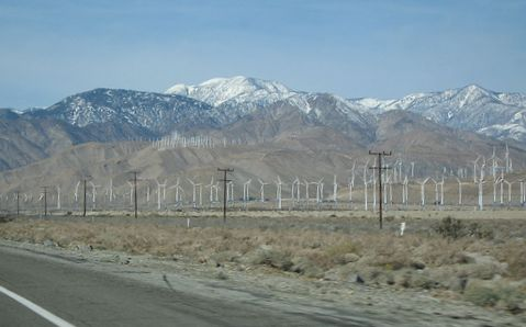 Palm springs Wind Mill