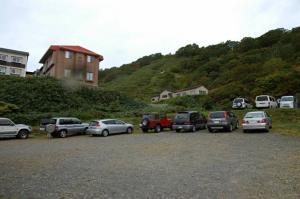 国見温泉駐車場
