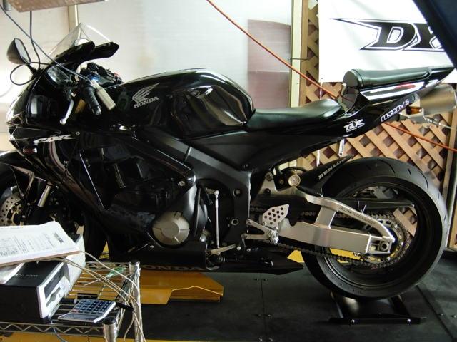 おいしいバイクの作り方 パワーチェック その3 cbr600rr