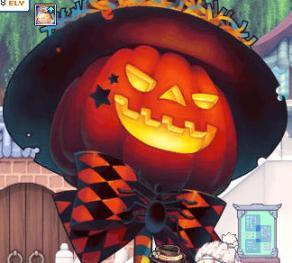 かぼちゃがかぼちゃに・・・w