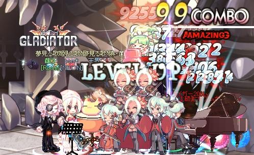 1 LvUP♪
