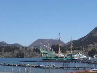20110412 箱根湾 海賊船