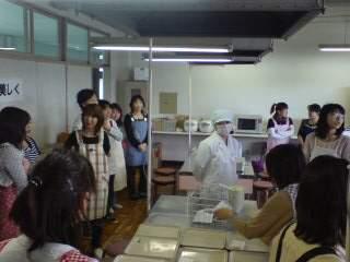 20110526 学校給食試食貝