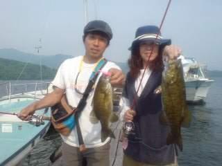 20110604 桟橋調査 ダブルヒット