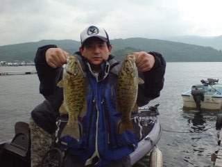 20110611 朝、買ったルアーで釣れた