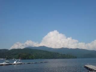 20110713 斑尾山の積乱雲