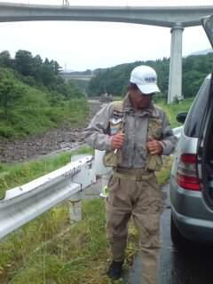 20110719 渓流釣り