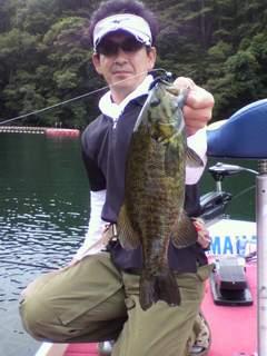 20110722 ラバージグで釣れた