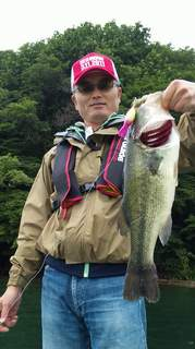 20110722 マッドタッドで釣れた