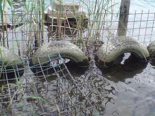 20110725 小屋前の減水