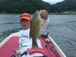 20110822 菅川で釣れた