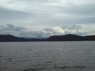 20110902 朝の湖
