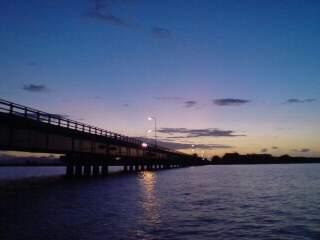 20110906 夕暮れの八郎潟